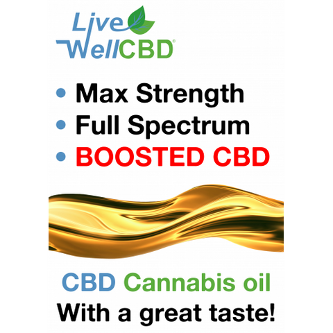 Live Well CBD – Max (Oral)