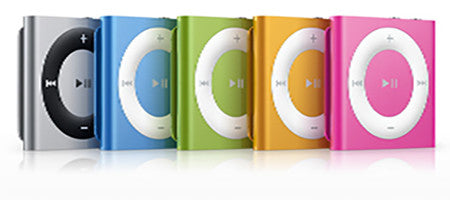 Apple iPod Shuffle 4th Generation - 2 GB