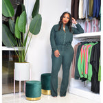 "DUCHESS TRACK SUIT ""DARK GREEN"""