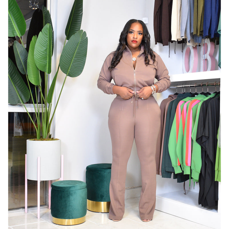 "DUCHESS TRACK SUIT ""COFFEE"""