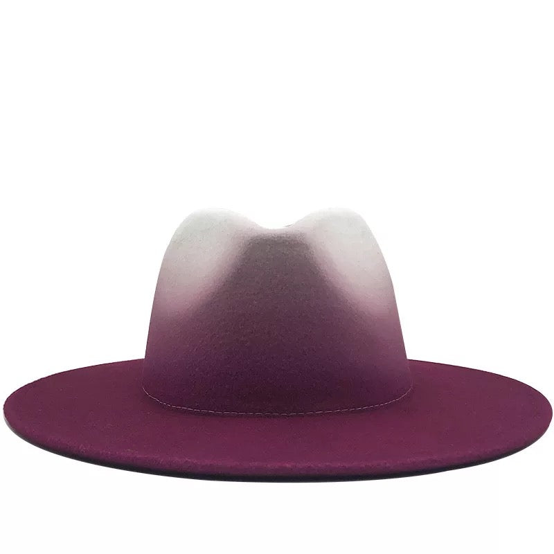 "FANCY FEDORA ""FUCHSIA"""