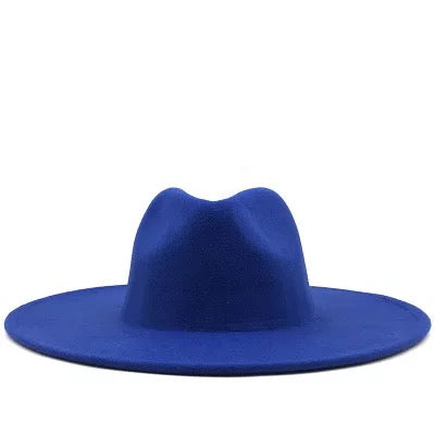 "BIG BRIM FEDORA ""ROYAL"""