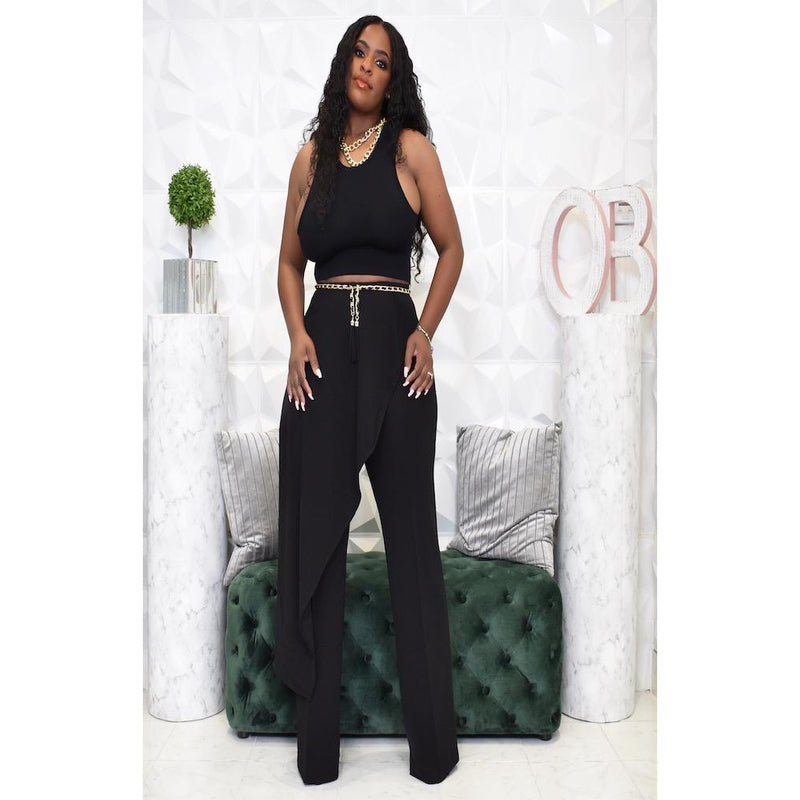 "HIGH FASHION PANTS ""BLACK"""