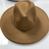"BIG BRIM FEDORA ""TOFFEE"""