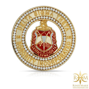 DST Shield Medallion Lapel Pin