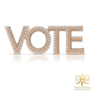 VOTE CoCo Brooch