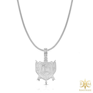 ΣΓΡ Shield Pendant with Chain