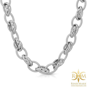 """Classic"" Stainless Steel Necklace"