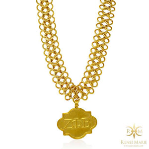 "ZΦB ""Soul Gold"" Stainless Steel Necklace"