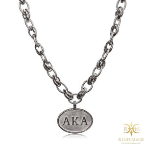 "AKA ""Classic"" Stainless Steel Necklace"