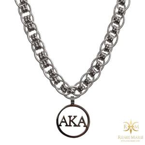 "AKA ""Jazz"" Stainless Steel Necklace"