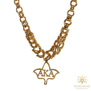 "AKA ""Rock"" Stainless Steel Necklace"