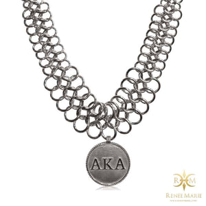 "AKA ""Soul"" Stainless Steel Necklace"