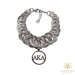"AKA ""Pop"" Stainless Steel Bracelet"