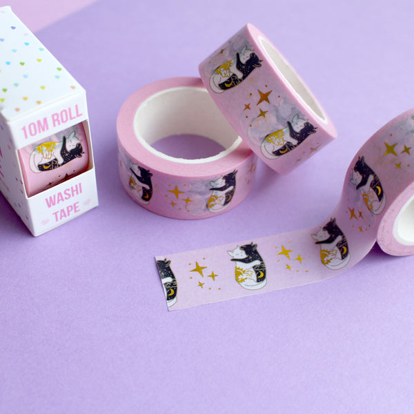 Hugging Cats Washi Tape