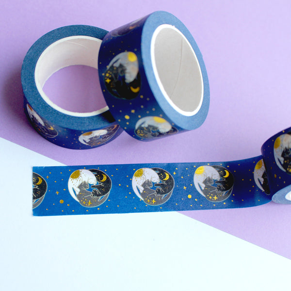 Trio of Cats Washi Tape