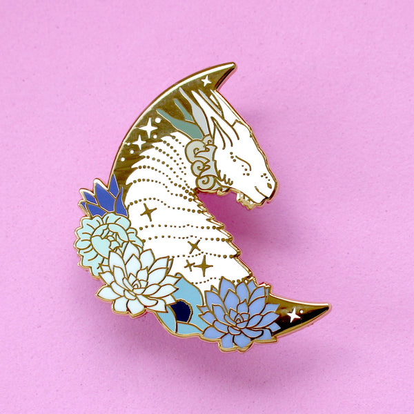 Dragon enamel pin