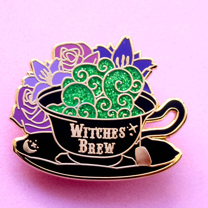 Witch's Brew Enamel Pin