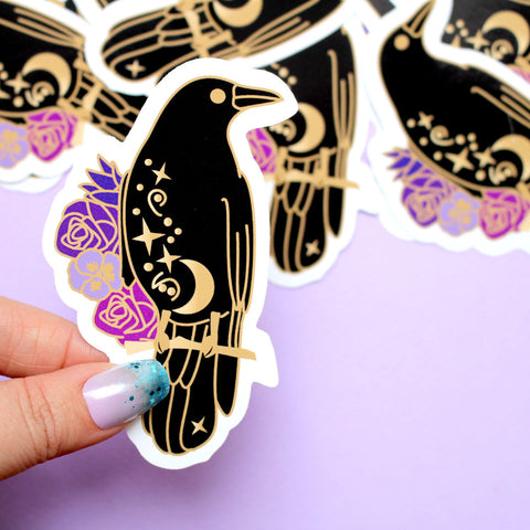 Crow Sticker
