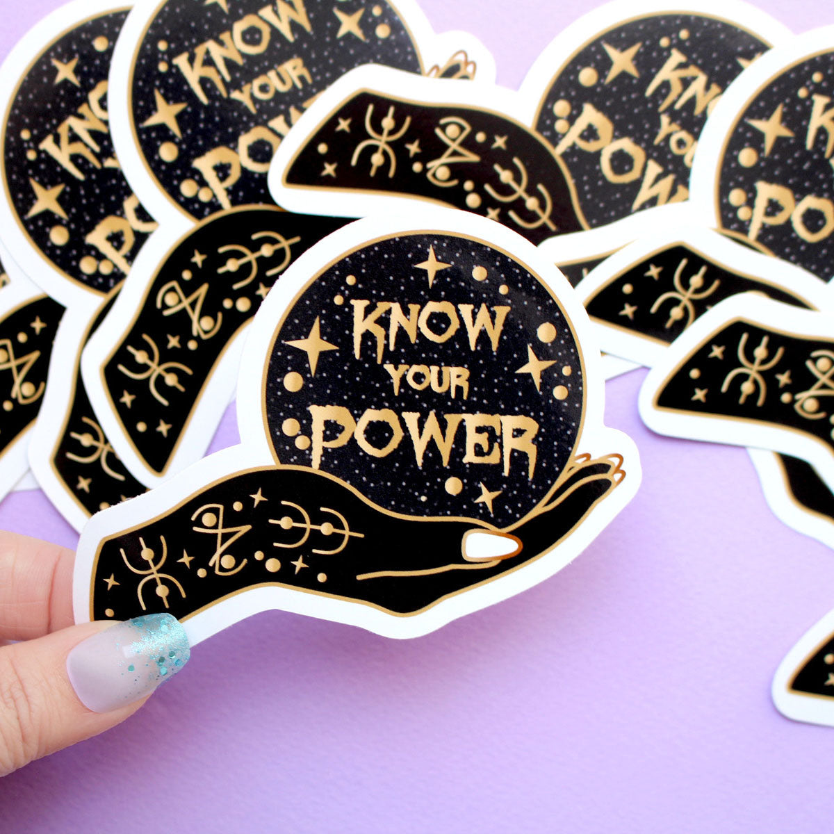 Know your Power Sticker