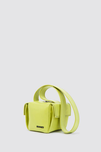 LIGHT GREEN LACUBETTO BAG