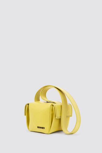 YELLOW LACUBETTO BAG