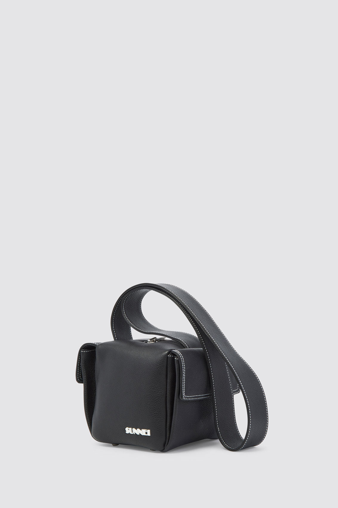 BLACK LACUBETTO BAG