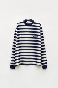 BLUE STRIPES LONG SLEEVE T-SHIRT