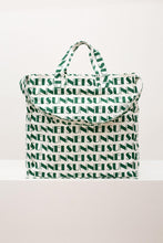 Load image into Gallery viewer, GREEN ALLOVER SUNNEI SHOPPER