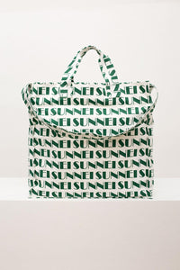 GREEN ALLOVER SUNNEI SHOPPER