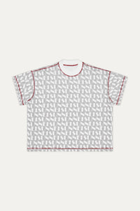 RED & GREY REVERSIBLE T-SHIRT