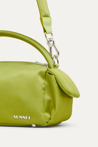 PEA GREEN NYLON LABAULETTO BAG