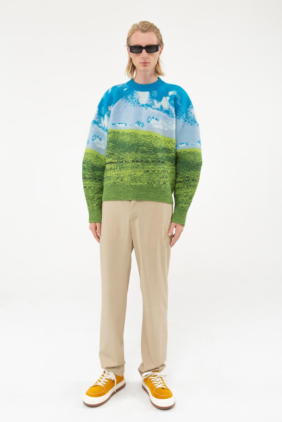 BLISS FELTED OVERSIZE JUMPER