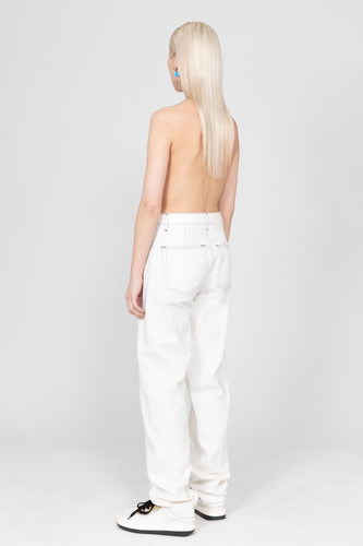 WHITE CLASSIC PANTS