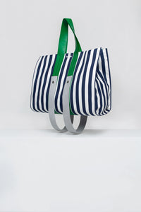 STRIPED PARALLELEPIPEDO MEDUSA BAG