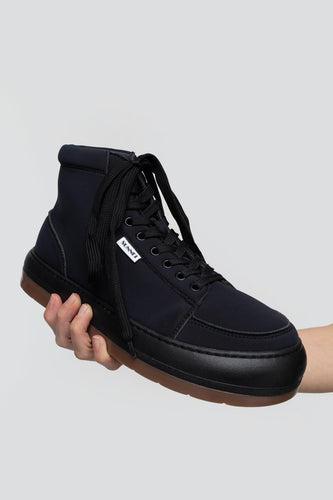 BLACK NEOPRENE HIGH TOP DREAMY