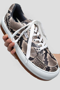 PYTHON-EMBOSSED LEATHER DREAMY