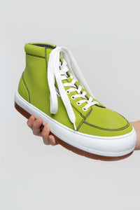 GREEN NEOPRENE HIGH TOP DREAMY
