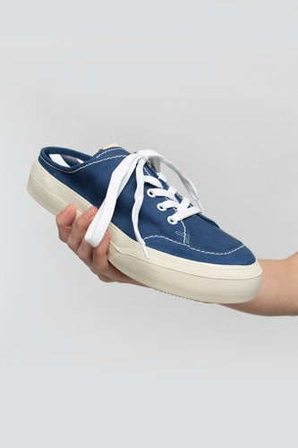 BLUE SABOT SNEAKERS