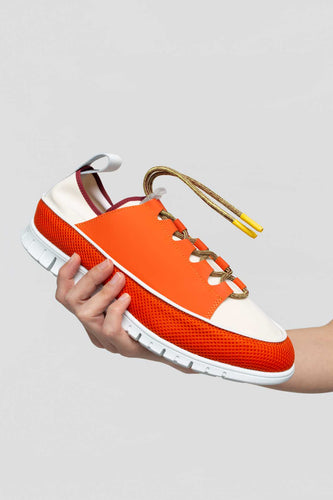 ORANGE WATER SHOES