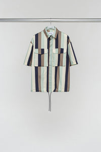 MINT MULTICOLOR VELCRO SHIRT
