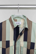 Load image into Gallery viewer, MINT MULTICOLOR VELCRO SHIRT