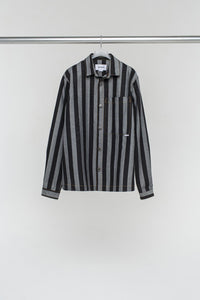 DENIM STRIPED REGULAR SHIRT