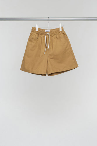 LIGHT BROWN CLASSIC SHORTS