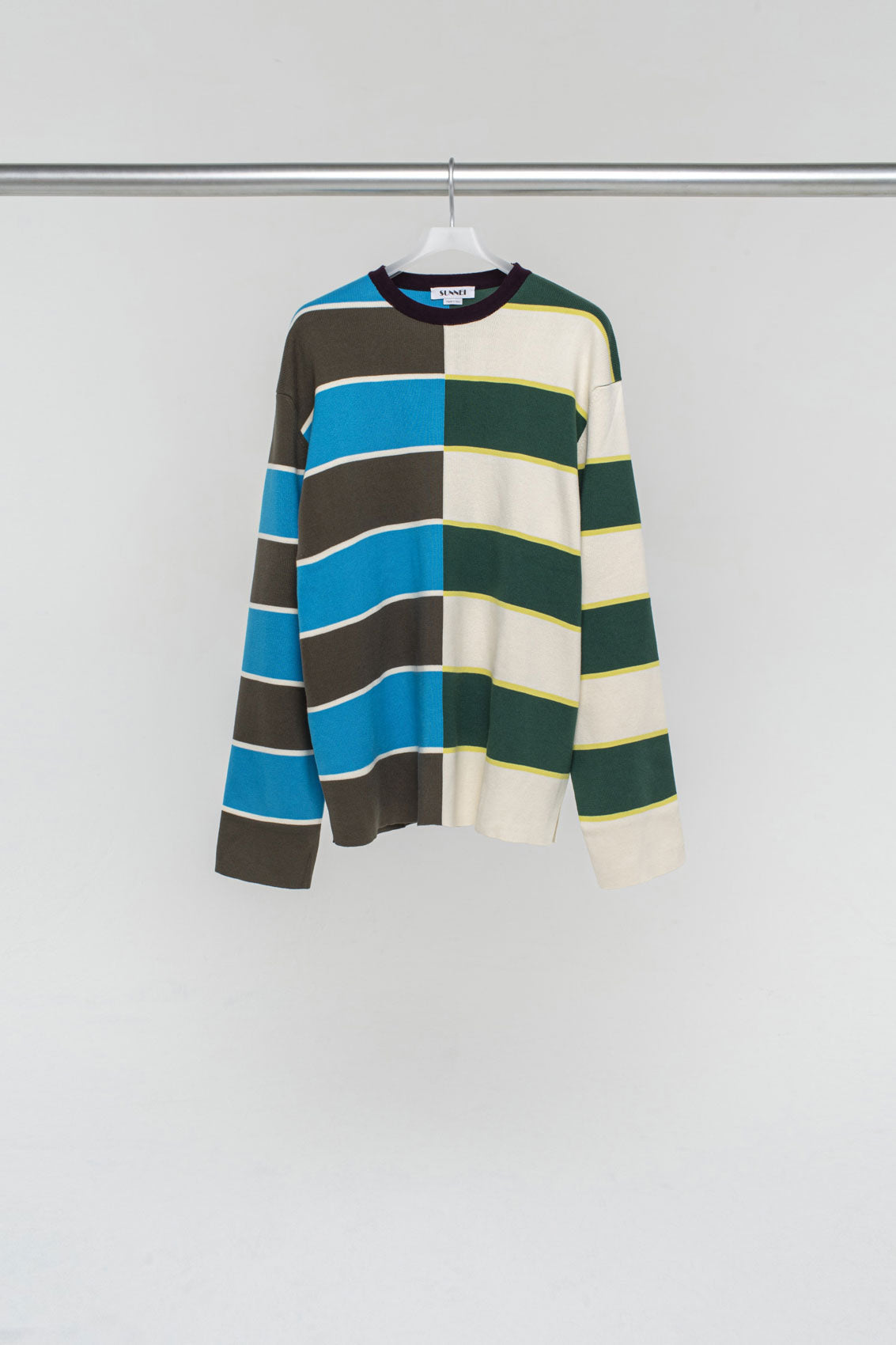 MULTICOLOR KNIT T-SHIRT