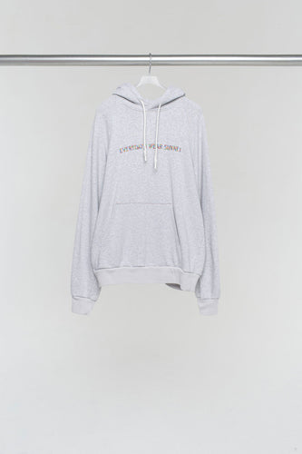 EVERYDAY I WEAR SUNNEI GREY HOODIE