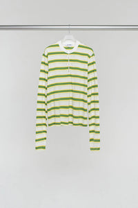 GREEN & YELLOW LONG SLEEVE T-SHIRT