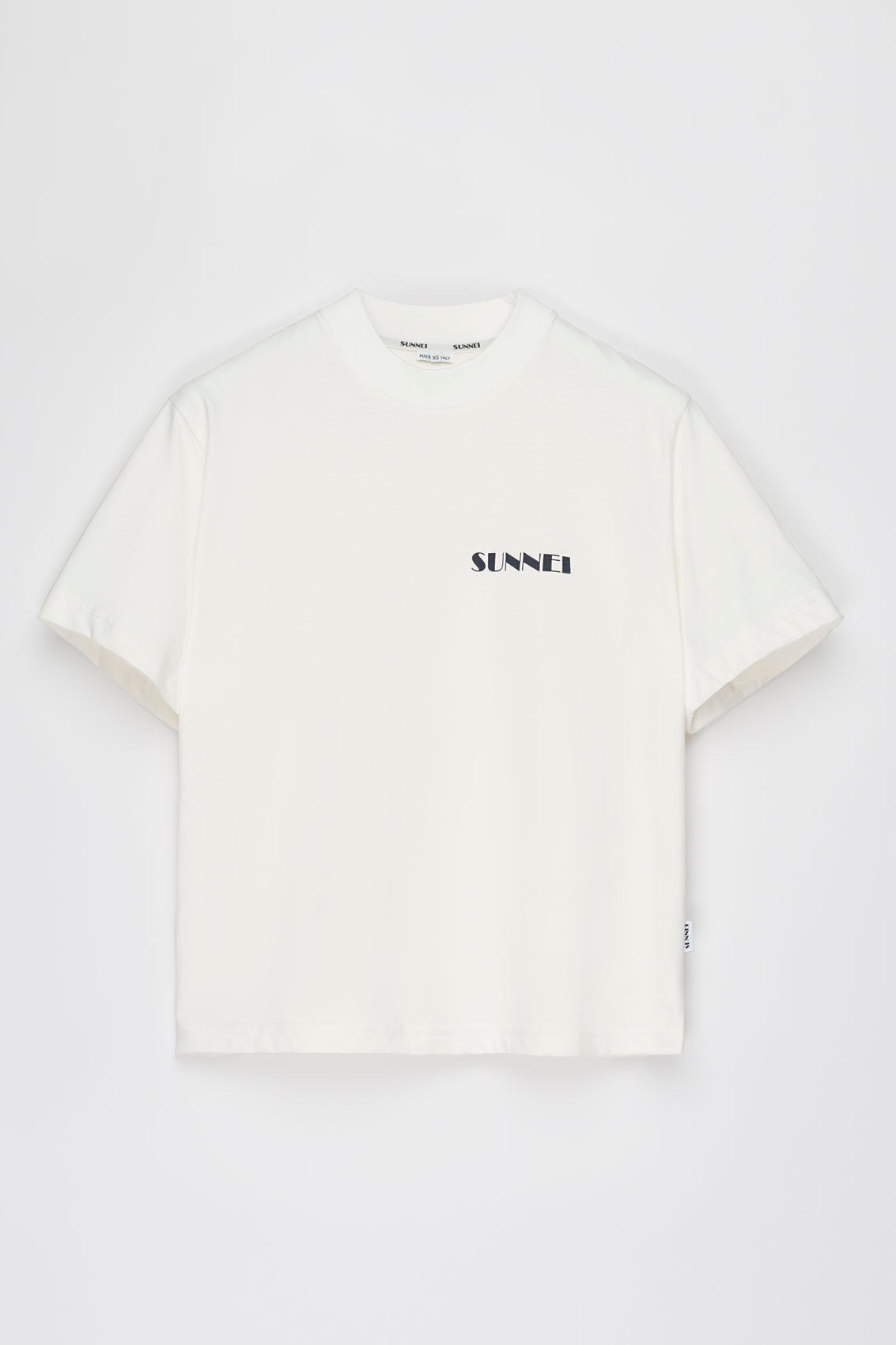 WHITE MINI LOGO T-SHIRT