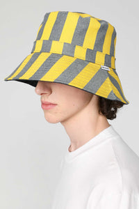 YELLOW STRIPES HAT