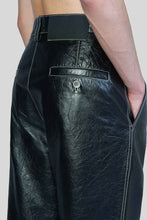 Load image into Gallery viewer, LEATHER STRAIGHT PANTS